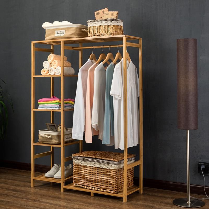 Lk23 природа Baboom шкаф многофункциональный BurlyWood стеллаж для хранения Orgnizer большой Ёмкость Костюмы вешалка Мебель для дома