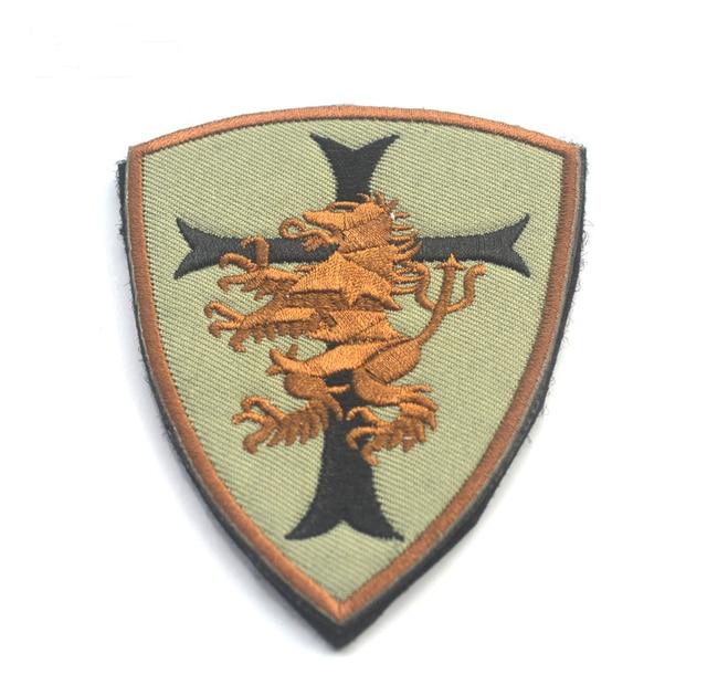 Military Patches Cloth Devgru Lion Cross Crusader Shield Morale