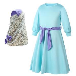 Image 3 - Children Abaya Kids Islamic Dresses Muslim Girl Dress Kaftan Moroccan Hijab Robe Dubai Bangladesh Vestido Uae Abayas