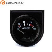 CNSPEED 52 мм Универсальный 12 В датчик температуры масла 50~ 150 C Датчик температуры масла прибор температуры масла с датчиком температуры масла YC101265