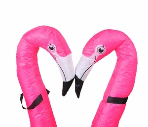 Image 5 - Flamingo Inflatable Costume Christms Mascot  Costume For Women Adults Kids halloween Cartoon Anime Mascot Cosplay For Party