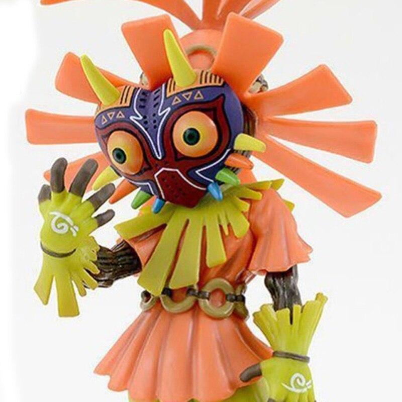 Anime The Legend of Zelda 14cm Boxed skull kid majoras mask Action Figure Toys anime the legend of zelda 10cm boxed action figure toys c0a311