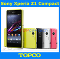 "Abierto Original Sony Xperia Z1 compacto GSM 3 G y 4 G Android Quad Core 2 GB RAM D5503 4.3 "" 20.7MP WIFI GPS 16 GB ROM dropshipping"