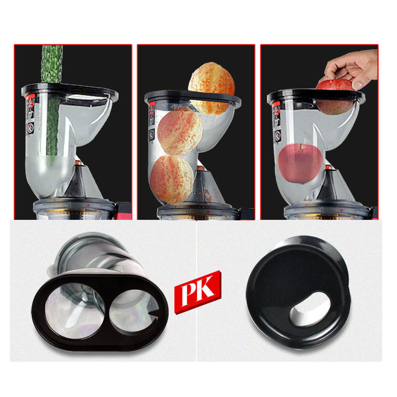 Large Wide Feed Port Juice Machine Whole Fruit Juicing  Juice Extractor Slowly Speed Electric Juicer For Home-in Juicers from Home Appliances    3