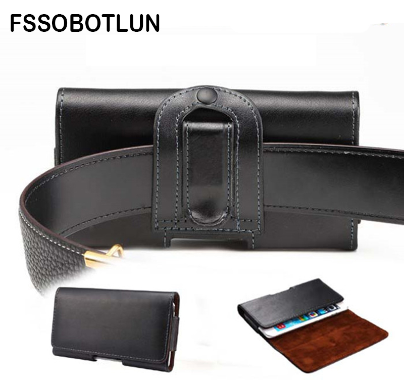 FSSOBOTLUN,For Oukitel U20 Plus/U7 Plus/K10000/ K4000/ K4000 Pro/U2 Phone Holsters Cover Leather Case Clip Belt Pouch Pocket Bag