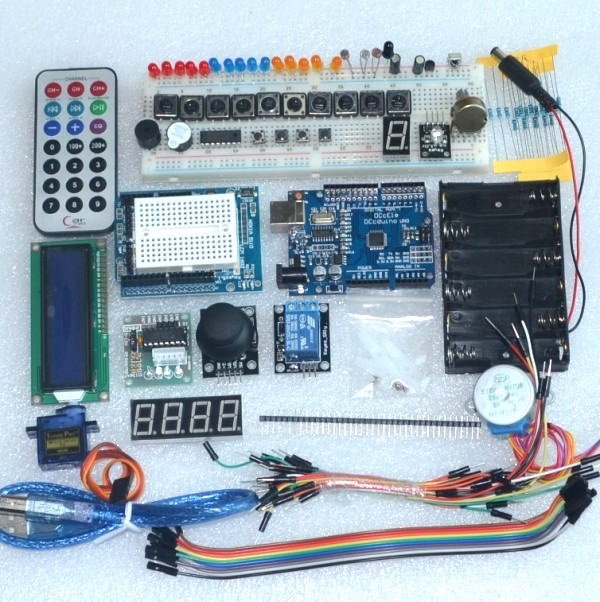 Microcontroller learning kit For 0i7 entry to the master 24 interactive courses Free box& Best prices