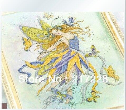 Вышивка фея бабочек