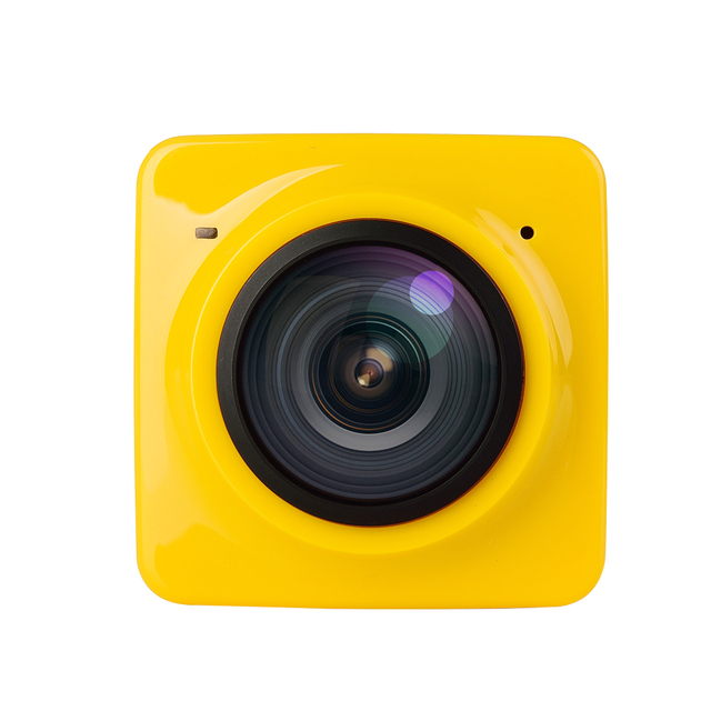 CUBE360 Paranomic VR Camera 360 Degree 3D HD 1280*1042 Panorama 1300Amh F2.0 with Micro USB Interface WIFI Max Support 32G
