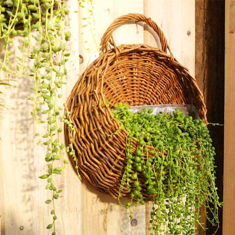 Hanging Flower Baskets Supplier : Get cheap wicker flower pot aliexpress