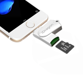All in 1 MFI to SD/TF OTG Card Reader Micro USB 2.0 Memory Mini Cardreader for iPhone 6/6s 7Plus for iPod iPad ios9