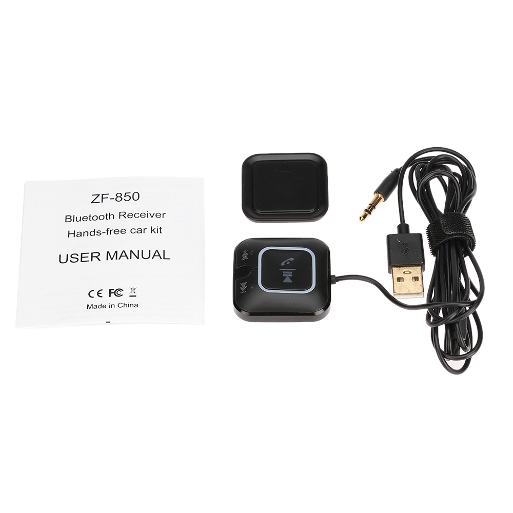 Bluetooth Music Receiver Ideal For In Car Or In Home: NFC Bluetooth Audio Receiver For Home Audio System Car Portable Wireless Music Receiver