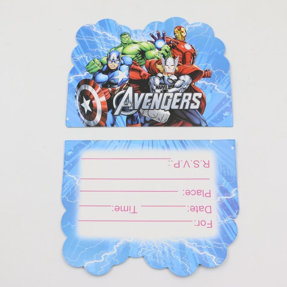 10pcs/lot teenage favor movie marvel\'s the avengers theme kids ...