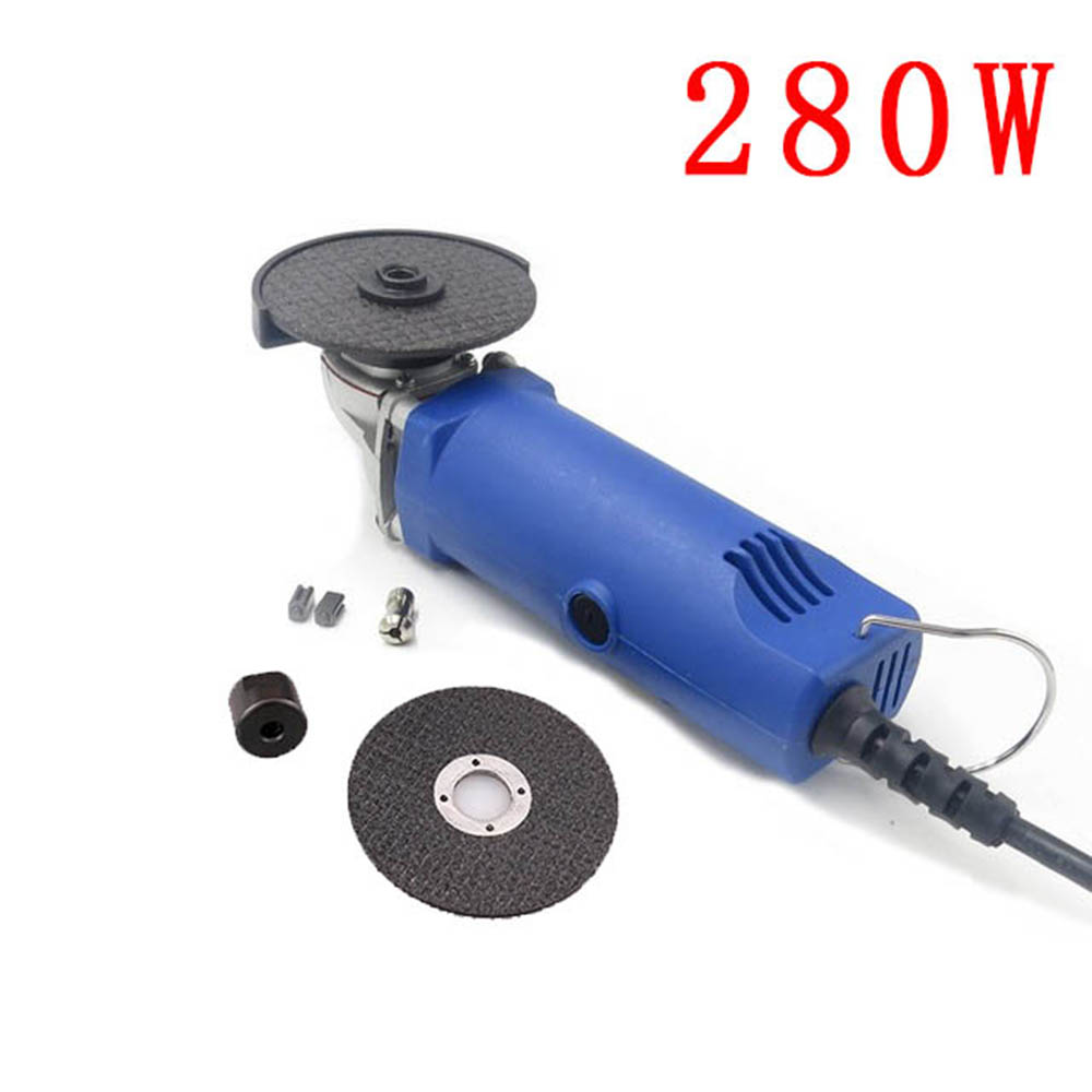PJLSW 220V EU polishing machine angle grinder cutting machine multi-function grinding machine 280W 1pc white or green polishing paste wax polishing compounds for high lustre finishing on steels hard metals durale quality