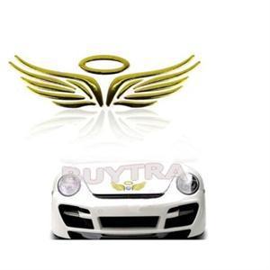 1pc Car Decoration 3d Angel Fairy Wings Auto Car Sticker Emblem