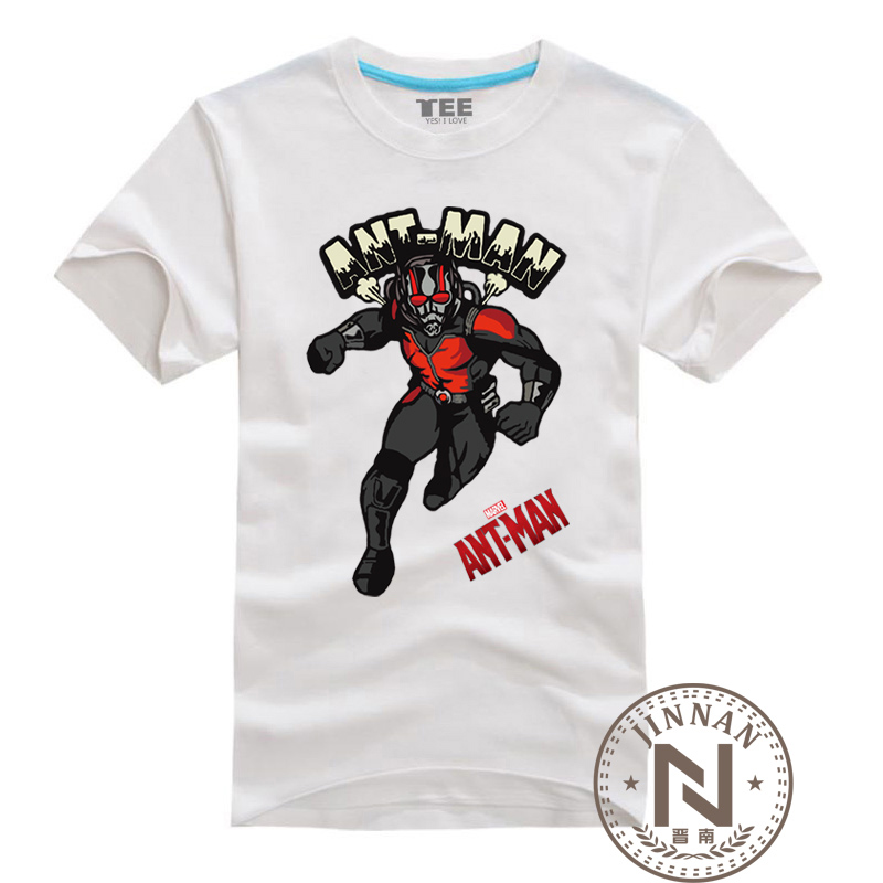 Ant man t shirt men boy comic t shirt cartoon movie tshirt Boys superhero t shirts