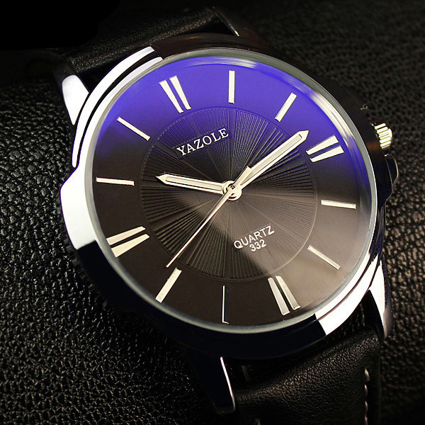 цены YAZOLE New 2018 Men Watch Top Brand Luxury Famous Male Clock Wrist Watch Casual Fashion Business Quartz-watch Relogio Masculino