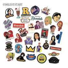 35 Pcs/Lot Riverdale Decal Sticker For Laptop Skateboard Luggage Car Bicycle Backpack Decal Pegatinas Toy Stickers(China)