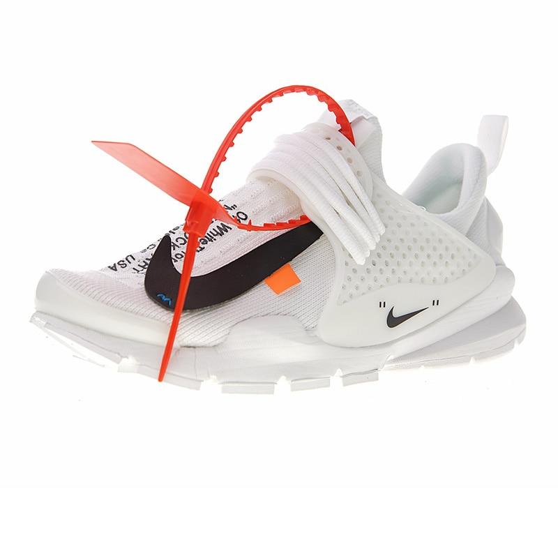 Nike La Nike Sock Dart X Off-White Mens and Womens Shoes, Black/White, Shock Absorption Breathable 819686 053 819686 058