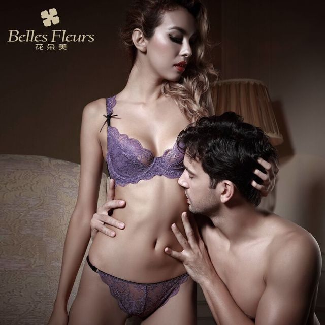 3c695305bdb Cheap 2017 Hot Underwear Set Women Sexy transparent bra Lace Bra Sets  Women s intimates Bra