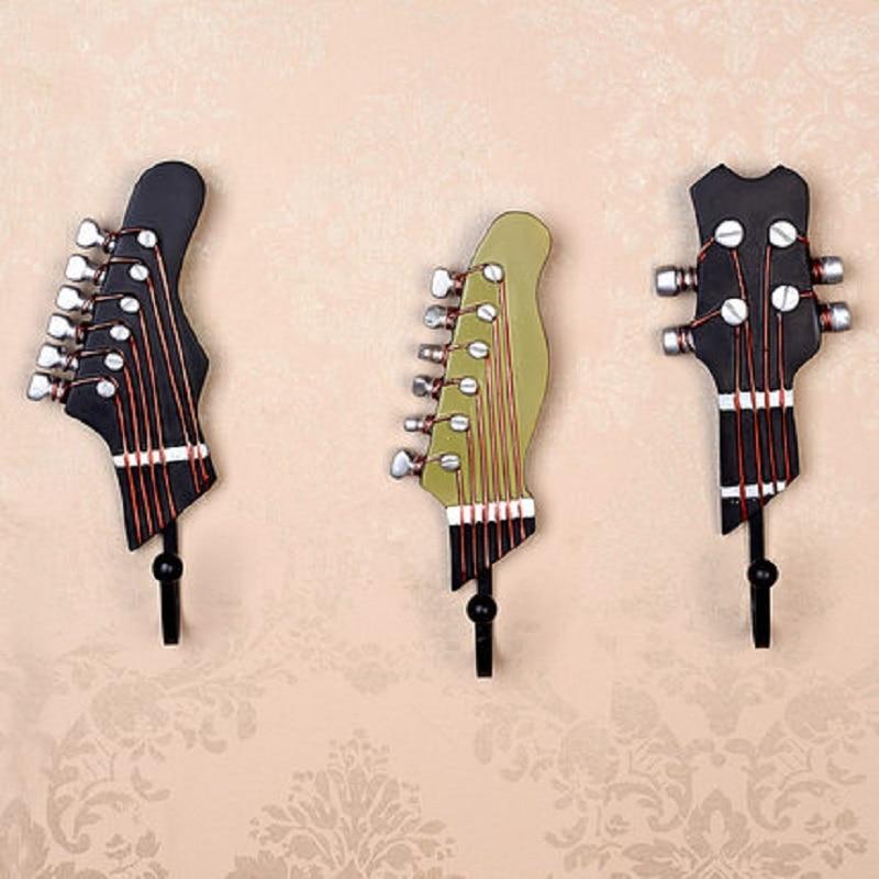 Crochet de suspension américain pays vent Instruments créatif crochet résine violon vêtements et casquettes crochet artisanat décoration murale