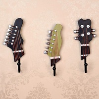 hanger hook American Country Wind Instruments Creative Hook Resin Violin Clothes and Caps Hook Craft Wall Decoration