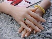 Best Qaulity реалистичные силиконовые женские руки Манекен Модель для кольца ювелирные изделия дисплей с бесплатной гвозди