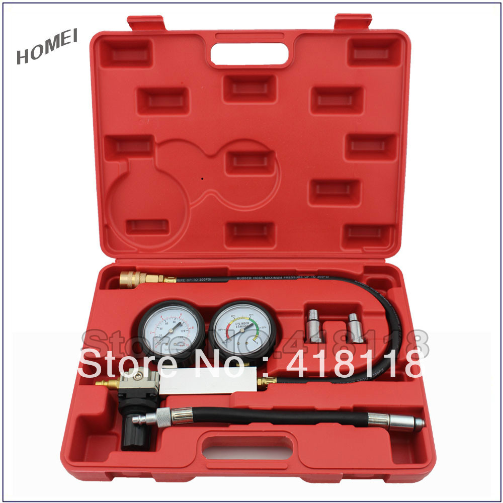 Diagnostic Tool Kit Cylinder Leak Detector and Crank Stopper for Engine Tester