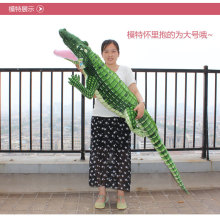 big size plush simulaiton crocodile toy huge creative mouth-opened crocodile gift about 200cm