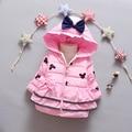 Fashion New children down coat baby Girls Thickening Warm Hooded Jacket Coat Children outerwear clothing V-0493
