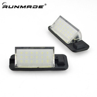 runmade For 18 SMD LED 6000K White License Plate Lights For BMW 1992 1998 E36 3 Series One Pair