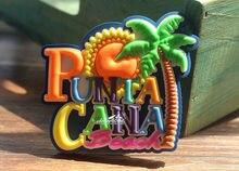 Пунта-Кана, доминиканская Республика Туристические Путешествия Сувенир Резиновые Магнит На Холодильник Во Всем Мире ИДЕЯ ПОДАРКА