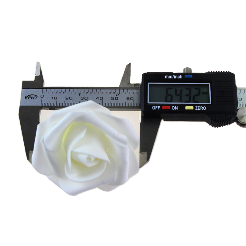 Fashion AC110-240V 5M 20leds Holiday Lighting LED Nyhet 6cm Big Rose - Ferie belysning - Bilde 3