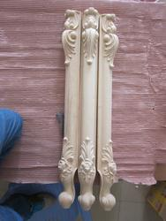 4 шт/лот, европейская деревянная резная мебель ножки Диванный кофейный столик ноги (A751)