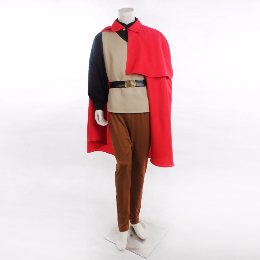 Custom Made Sleeping Beauty Sleeping Beauty Prince Phillip cosplay Costume Outfit Adult Top Cap Pants Costume L0516