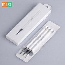 Xiaomi mijia знак пера 9.5 мм из металла шариковая ручка premec гладкой Швейцарии пополнения mikuni Япония черный индивидуальные чернил оригинальный