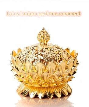 ATL Automobile interior car perfume ornament, zinc alloy Lotus Lantern decoration,air freshener