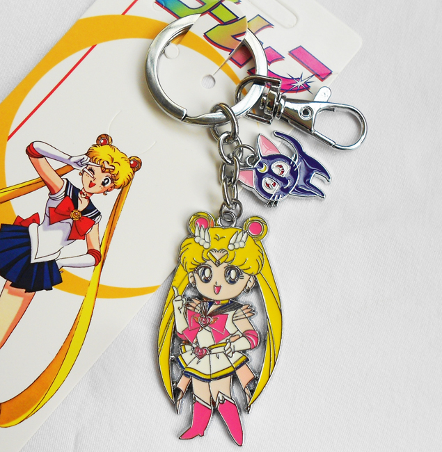 Costumes & Accessories 1 Piece Cute Janpanese Anime Sailor Moon Keychain Key Ring Luna Cat Figure Gift 7 Styles Costume Props