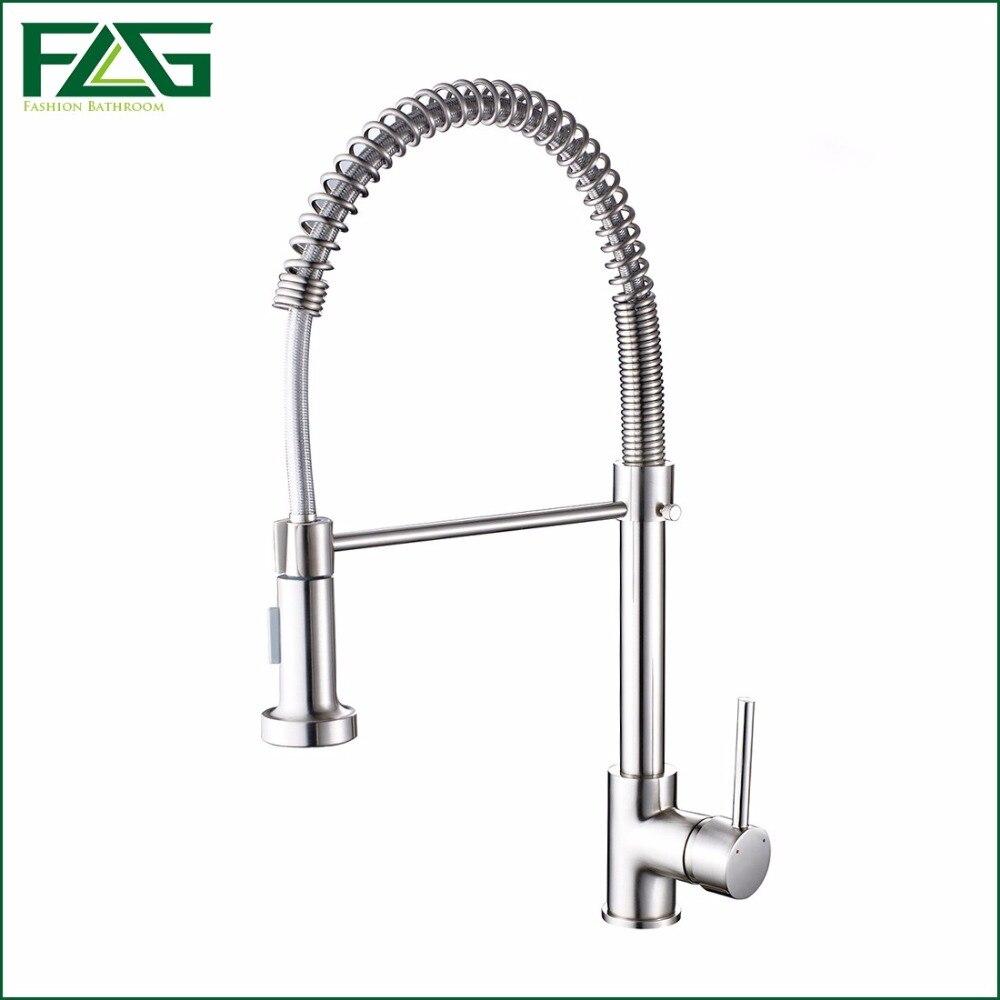 Brushed Nickel Faucet Kitchen Online Get Cheap Kitchen Faucet Handles Aliexpresscom Alibaba