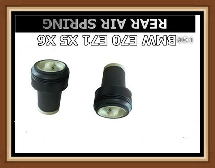 Pair of Rear Left Right Air Suspension for X5 E70  X6 E71 E72 OE # 37126790078 37126790079 37126790080