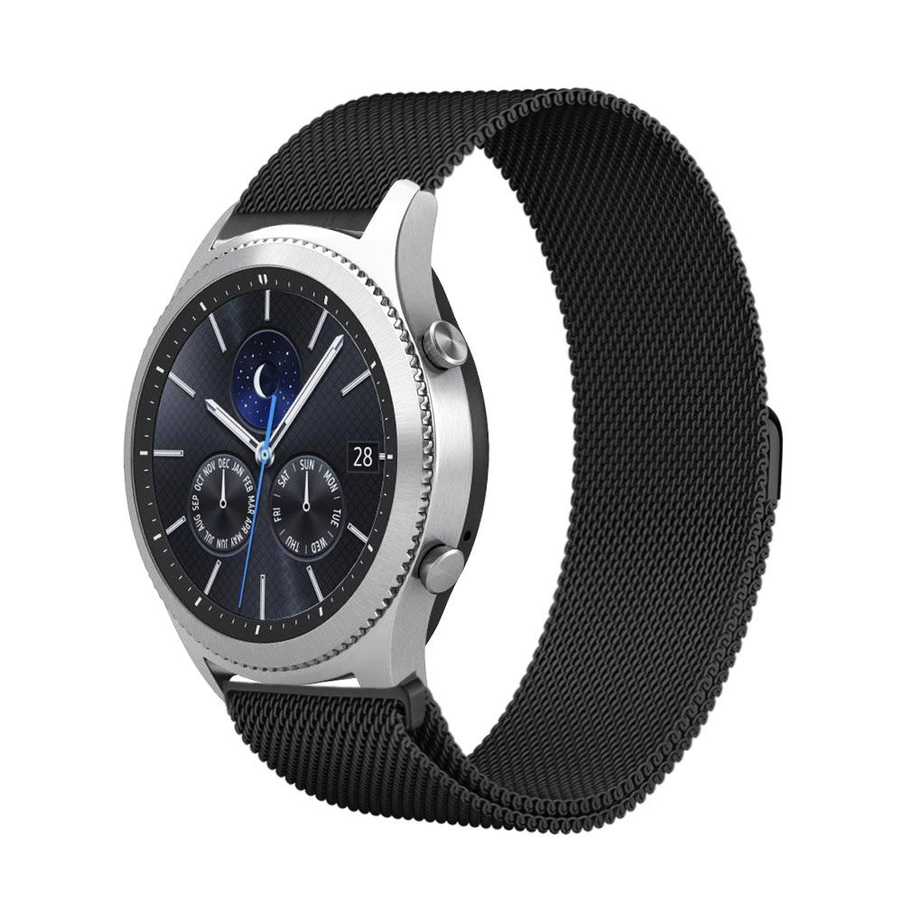 Galleria fotografica Milanese Loop For Samsung Gear S3 Band Magnetic Closure Clasp Replacement Strap For Gear S3 Classic frontier