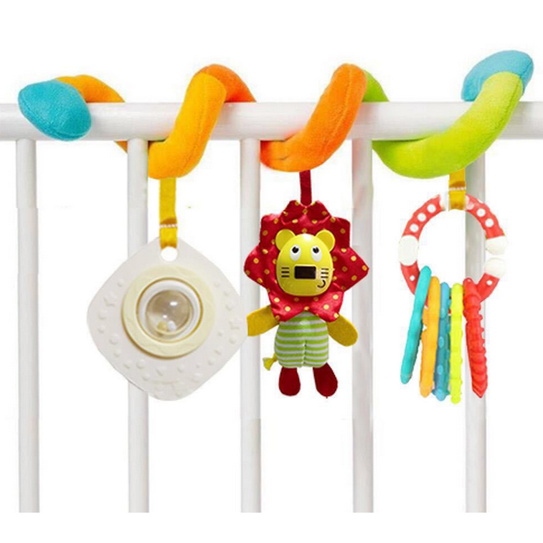Surwish Cute Infant Spiral Bed Stroller Toy Hanging Bell Crib Rattle Babyplay Baby Toys ...