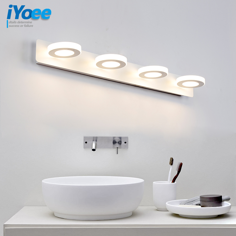Modern Bathroom LED Mirror Light Desk dresser Bedside lamp sconce Wall Lamps lampada de led wholesale cabinet Mirror front lamps modern lamp trophy wall lamp wall lamp bed lighting bedside wall lamp