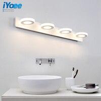 Modern3W 6W 9W 12W Bathroom LED Mirror Light AC90 230V SMD2835 Mini Style Cool White LED