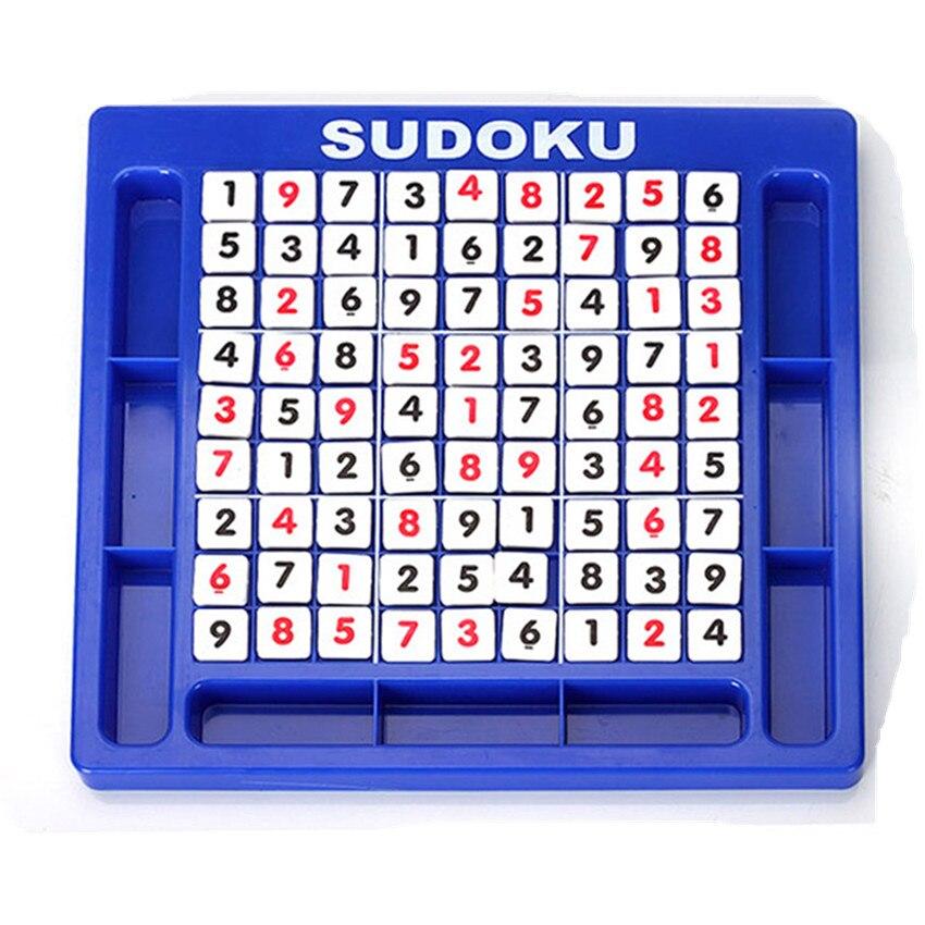 Sudoku jeu pour enfants montessori jouet éducatif en développement jouets pour enfants puzzle jouets éducatifs jouets