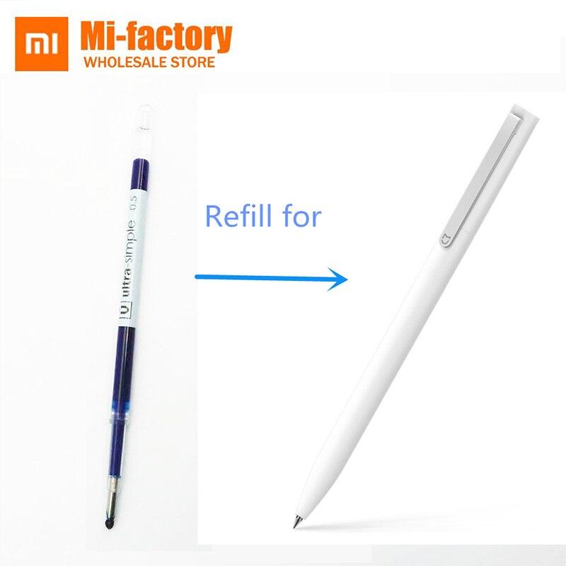 0,5mm Blau Farbe Tinten Refill Für Xiaomi Stifte Ersatz Nur Für Alte Version Xiaomi Stift