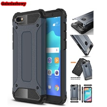 Case For Huawei Honor 7A Shockproof Armor Hard PC Silicone DUA-L22 5.45 RU Soft TPU Phone Cover
