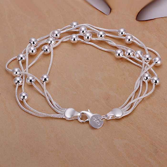 jewelry silver plated  jewelry bracelet fine fashion bracelet top quality wholesale and retail SMTH234