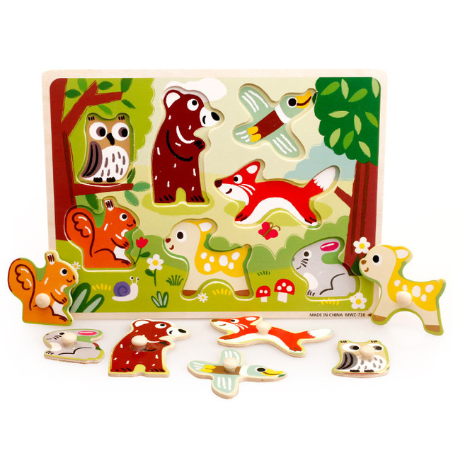 Toddler Learning Toy > Educational Wooden Puzzle