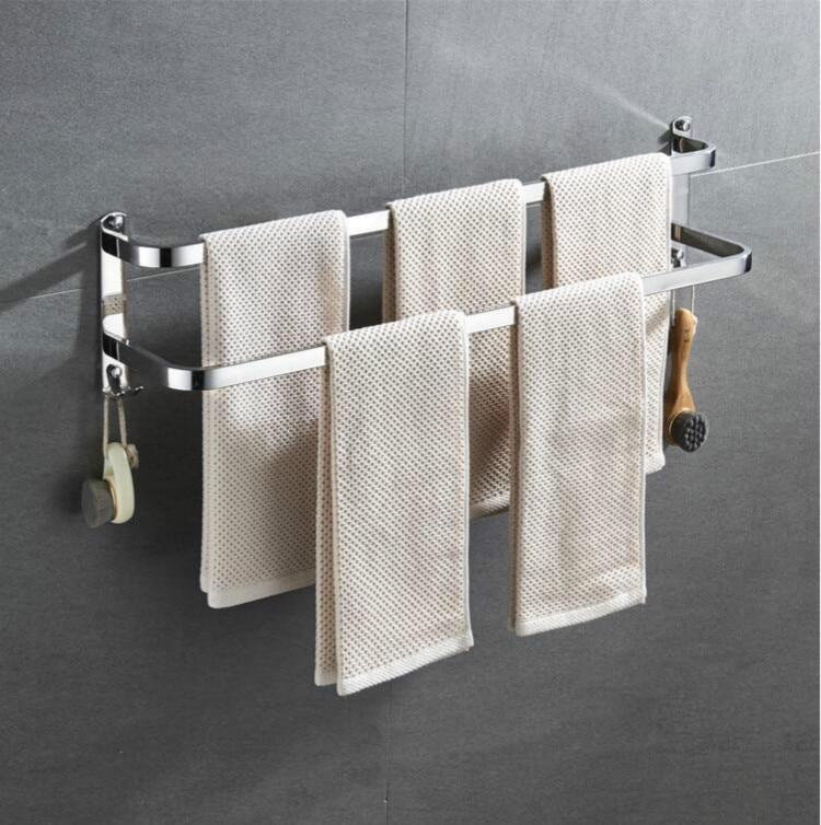 Bathroom Shower Towel Rack Wall Mounted