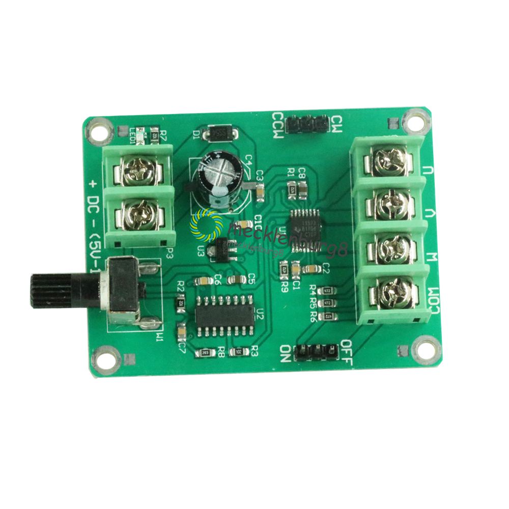 1 PC. 9V-12V DC Brushless Driver Driver Controller Board For Motor Hard Drive 3/4 Wire New
